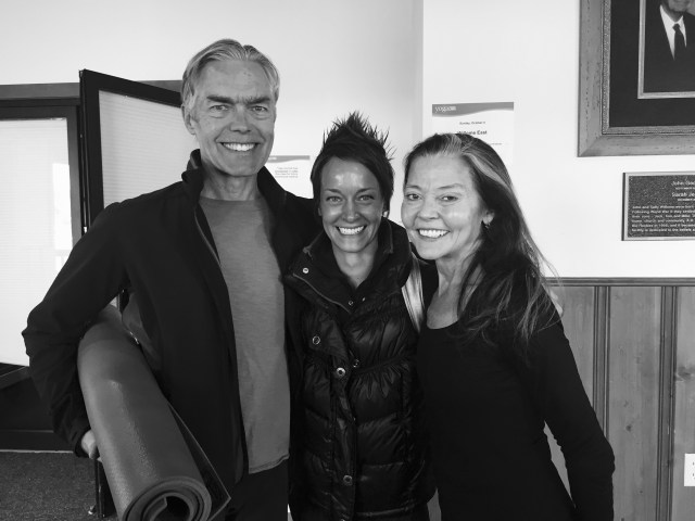 What a lovely weekend I had assisting Richard's workshops with Mary at the Yoga Journal Conference in Estes Park!