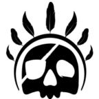 Jungle Pirate Skull Logo apple-icon-144x144