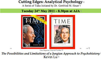 Time Magazine; Jung and Toynbee The Possibilities and Limitations of a Jungian Approach to Psychohistory Kevin Lu