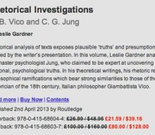 Rhetorical Investigations  G. B. Vico and C. G. Jung