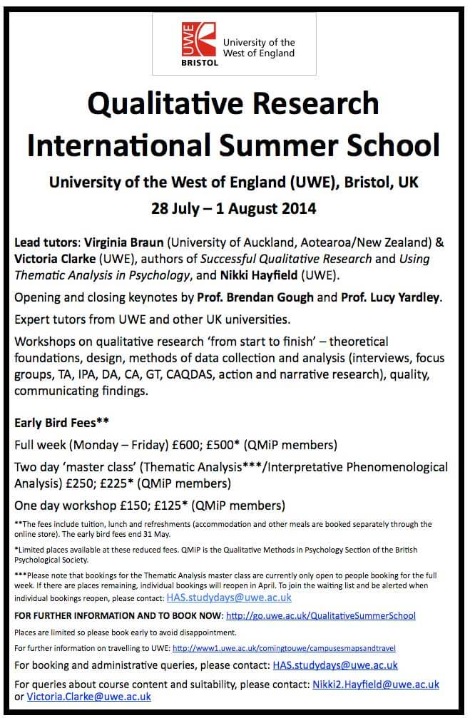 Qualitative-Research-International-Summer-School-
