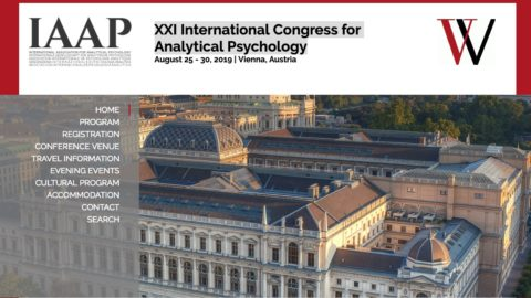 IAAP Invitation to the IAJS. XXI International Congress for Analytical Psychology August 25 – 30, 2019 | Vienna, Austria