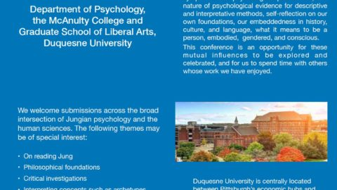 Call for Papers: Jungian Psychology & the Human Sciences