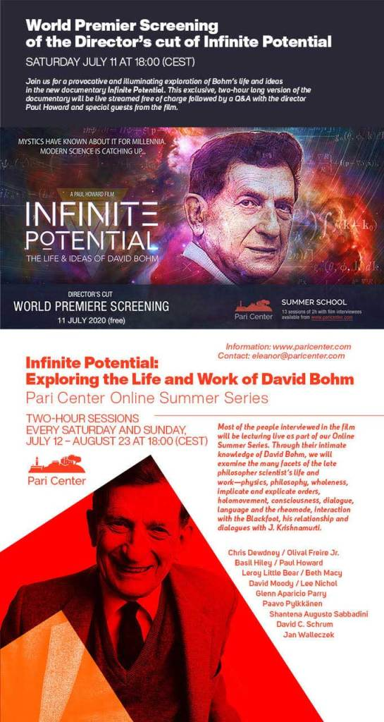 Infinite Potential: The Life and Ideas of David Bohm