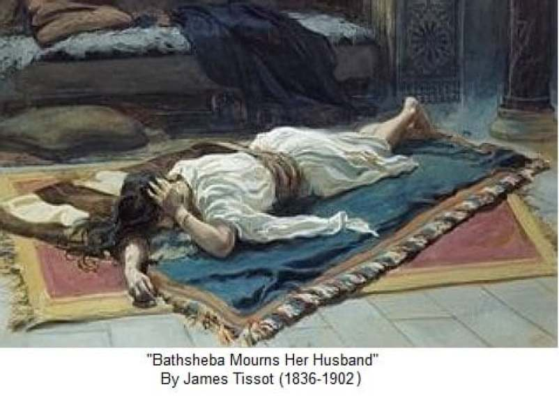 bathsheba mourns tissot