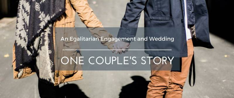 Egalitarian Engagement Wedding