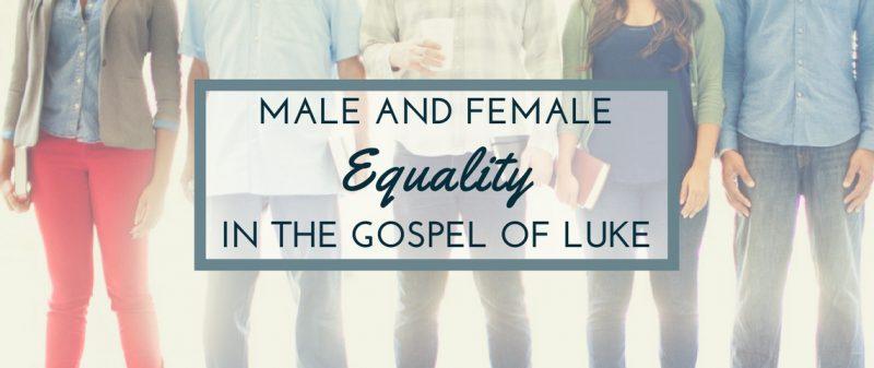 La igualdad entre varones y mujeres en Lucas (3)