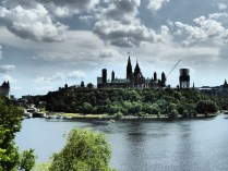 Blick auf Parliament Hill