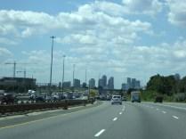 Auf dem Weg nach Toronto
