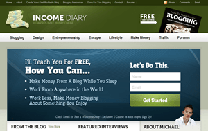 IncomeDiary by Michael Dunlop
