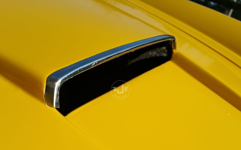 250 Spyder yellow