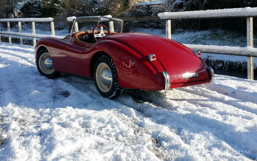 XK120 Roadster Rood