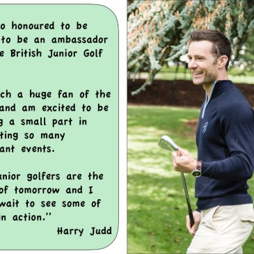 Harry Judd - British Junior Golf Tour