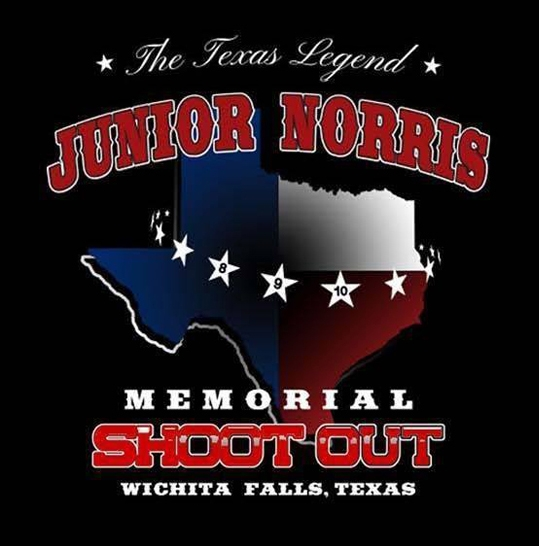 2017 Junior Norris Event Tee Shirt - PICK UP AT EVENT 2017 Junior Norris Event Ladies VNeck Shirt - PICK UP AT EVENT