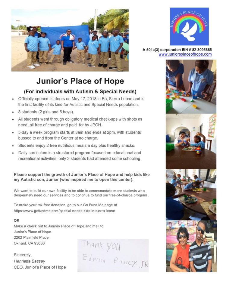 JPOH appeal letter