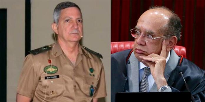 general detona Gilmar Mendes
