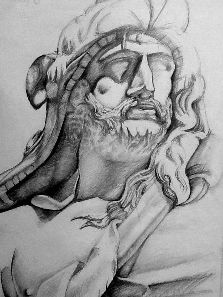 Pencil Drawing Art by Junior Tomlin