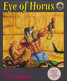 Eye of Horus Game Design Artwork by Junior Tomlin