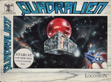 Quadralien Game Design Artwork by Junior Tomlin