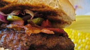 Bork Burgers (Beef and Pork)