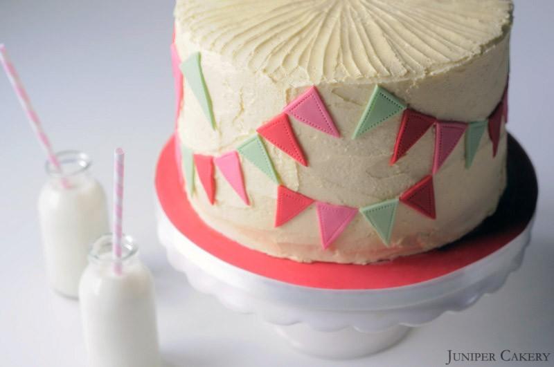 Rhubarb, Honey & Vanilla Cake in Partnership with The Happy Egg Co.