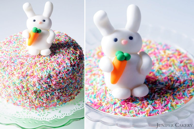 Easter Tutorial Week: How to make a sugarpaste bunny!