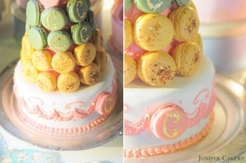 Macaron Tower Cake Made Using Tala Cake Marker