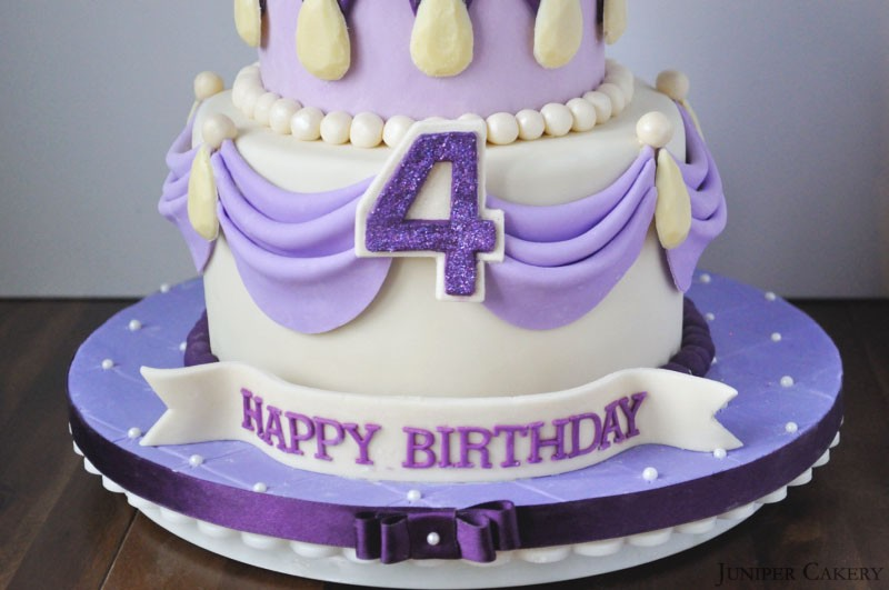 Fantastic Sofia The First Birthday Cake Juniper Cakery Cakes In Hull Funny Birthday Cards Online Overcheapnameinfo