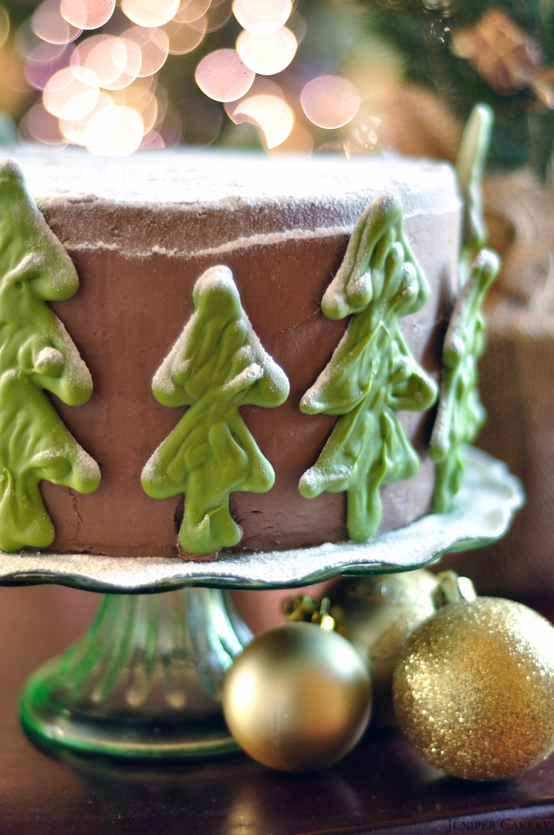 After Dinner Mint Cake by Juniper Cakery
