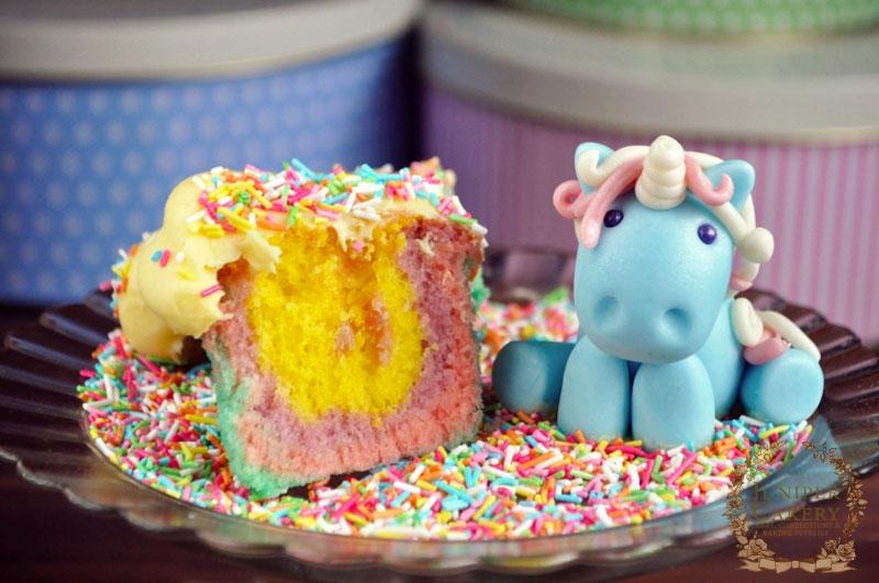 Unicorn Cupcake by Juniper Cakery