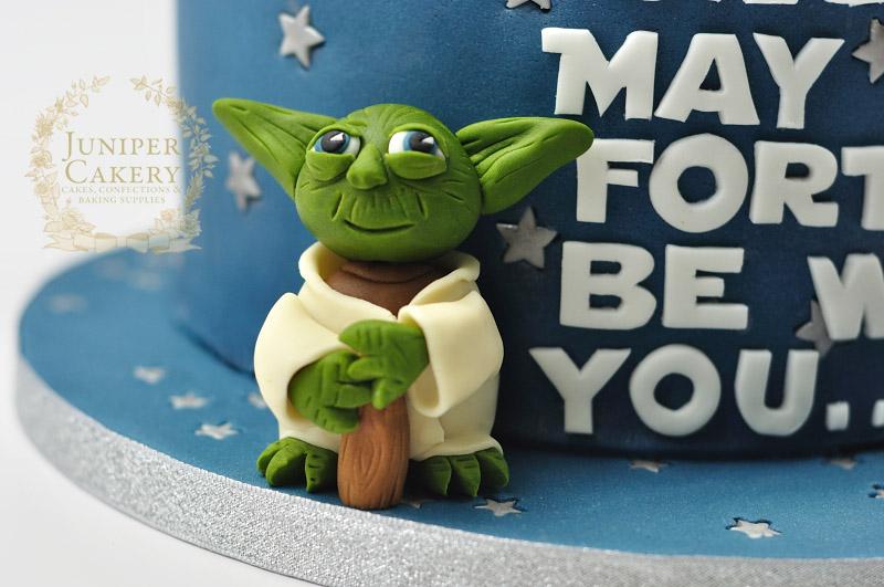 40th Birthday Star Wars Cake Juniper Cakery Bespoke Cakes In