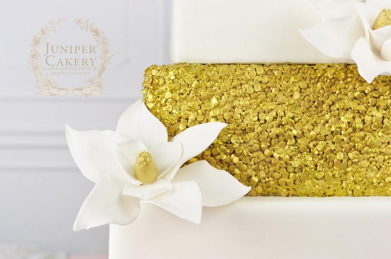 Magnolia wedding cake by Juniper Cakery