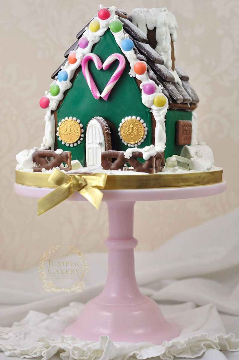 Gingerbread House by Juniper Cakery