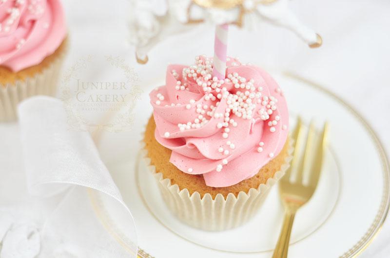 Strawberry Milkshake Cupcake by Juniper Cakery