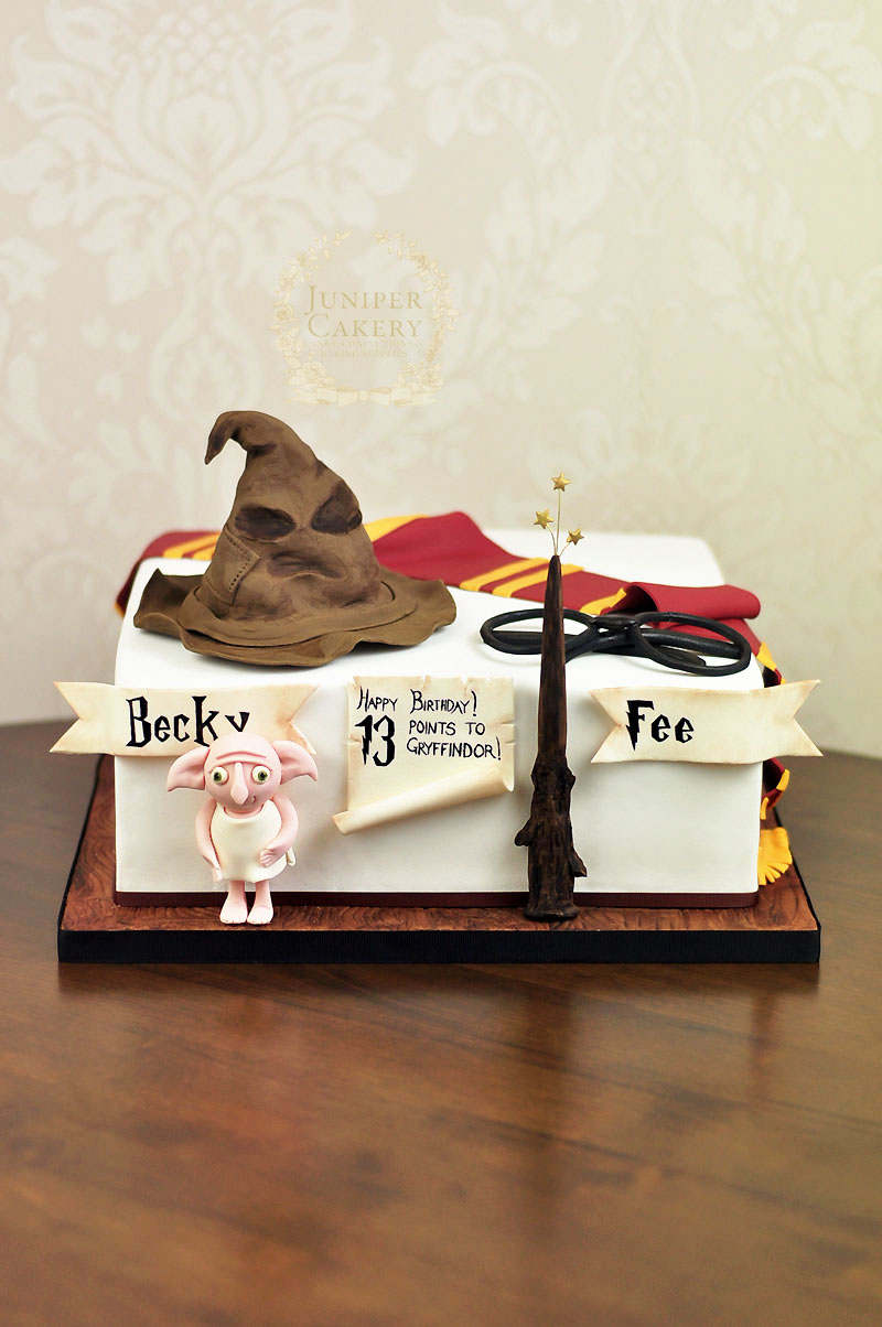 Harry Potter birthday cake by Juniper Cakery