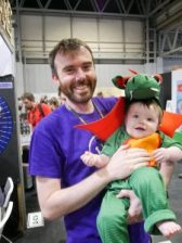 Baby dragon at the UK Games Expo