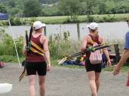 Oars down