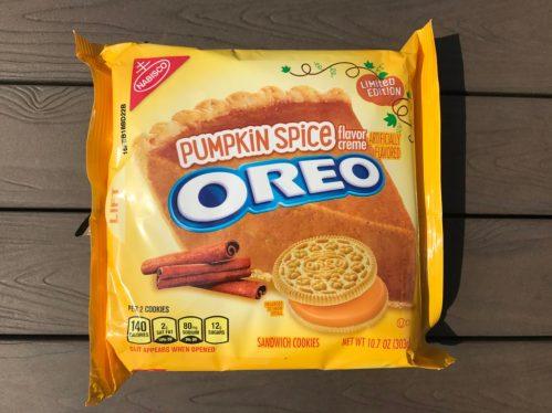 Nabisco Pumpkin Spice Oreos