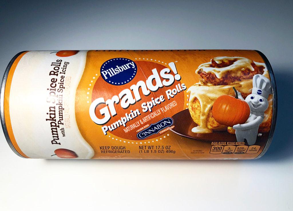 Review Pillsbury Grands Pumpkin Spice Rolls Junk Banter