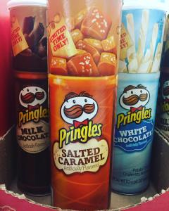 Came to the store to buy batteries; left with 3 cans of #Pringles. Forgot the batteries.