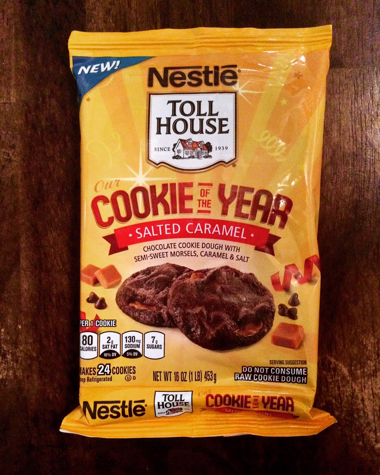 REVIEW: Nestle Toll House Cookie of the Year (Salted Caramel ...