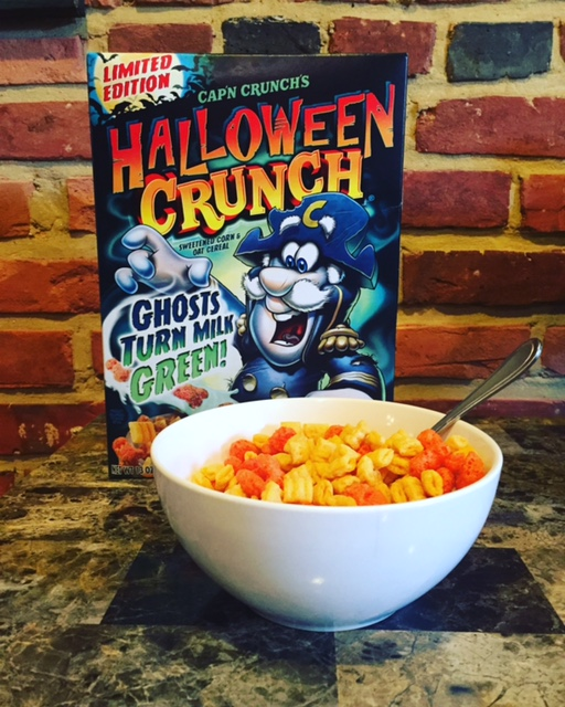 just so were perfectly clear on this capn crunchs halloween crunch is just regular capn crunch berries that have replaced the standard berries with - Captain Crunch Halloween
