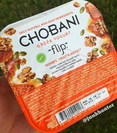 Chobani Flip Honey That's Nuts