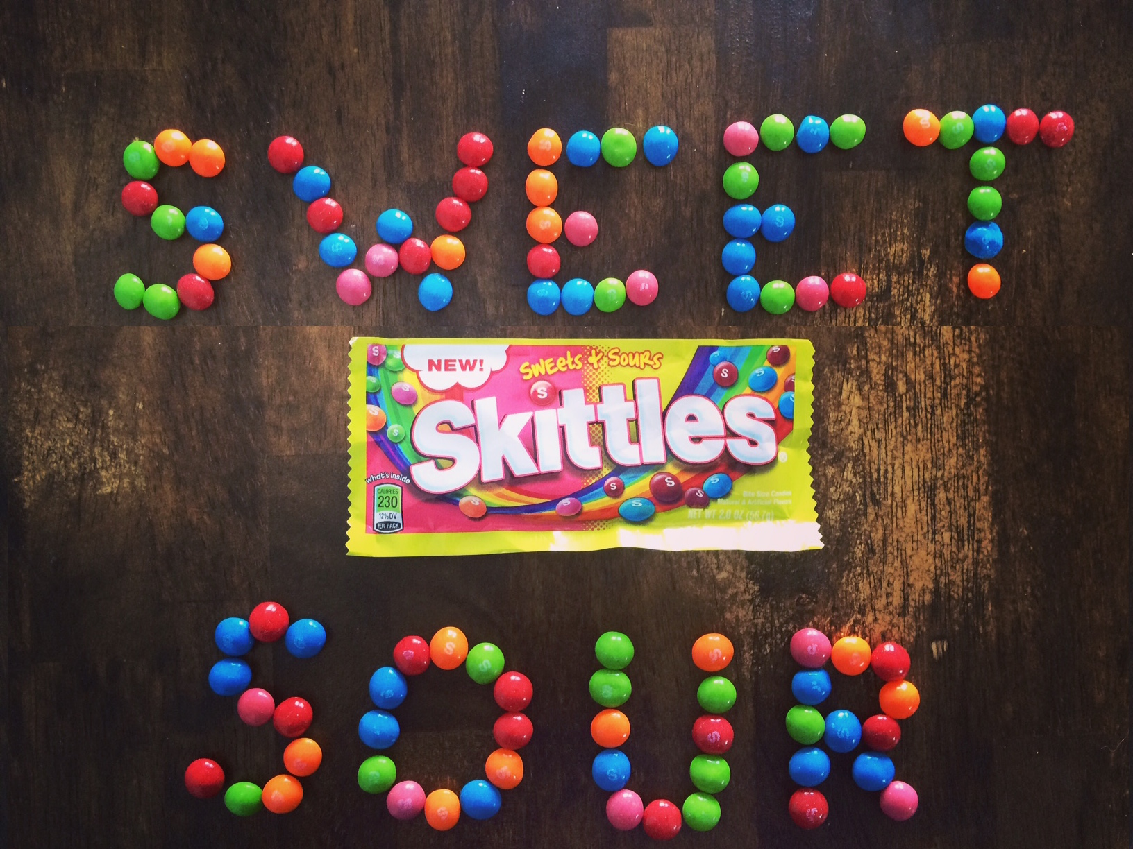 REVIEW: Sweets & Sours Skittles - Junk Banter