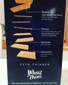 Even Thinner Wheat Thins
