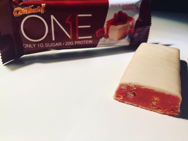 OhYeah ONE White Chocolate Raspberry