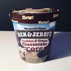 Ben & Jerry's Cookies & Cream Cheesecake Core