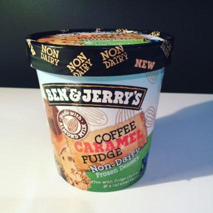 Ben & Jerry's Coffee Caramel Fudge (Non-Dairy)