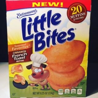 Entenmann's Little Bites Cinnamon French Toast Muffins