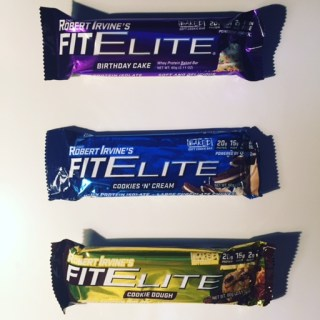 Chef Robert Irvine's Fit Elite Bars
